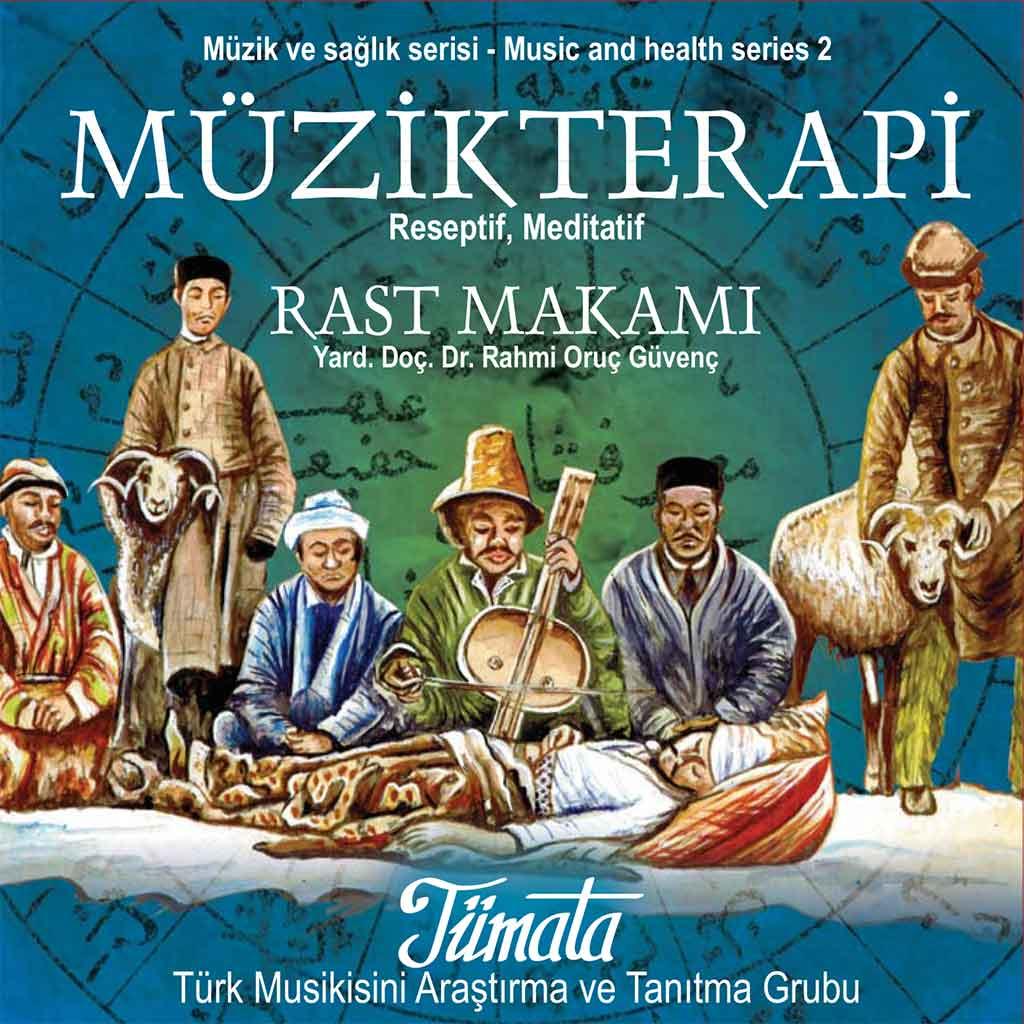 Tümata Rast Makamı müzik terapi CD kapağı