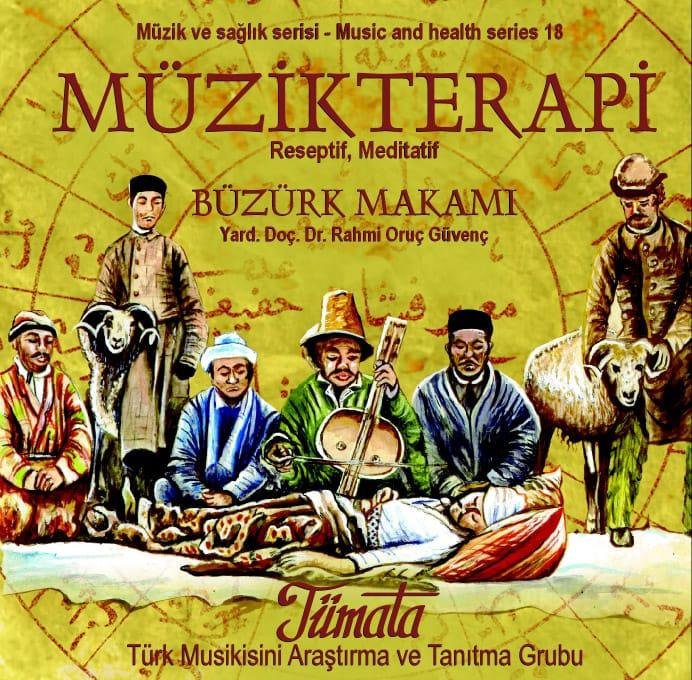 Büzürk makamı müzik terapi CD kapağı