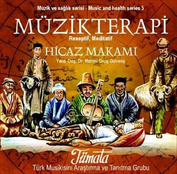 Tümata Hicaz makamı müzik terapi CD kapağı
