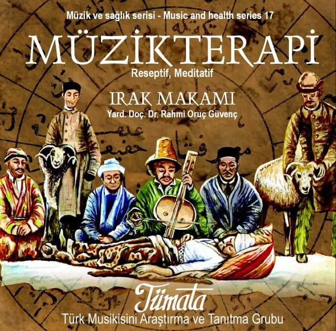 Irak makamı müzik terapi CD kapağı