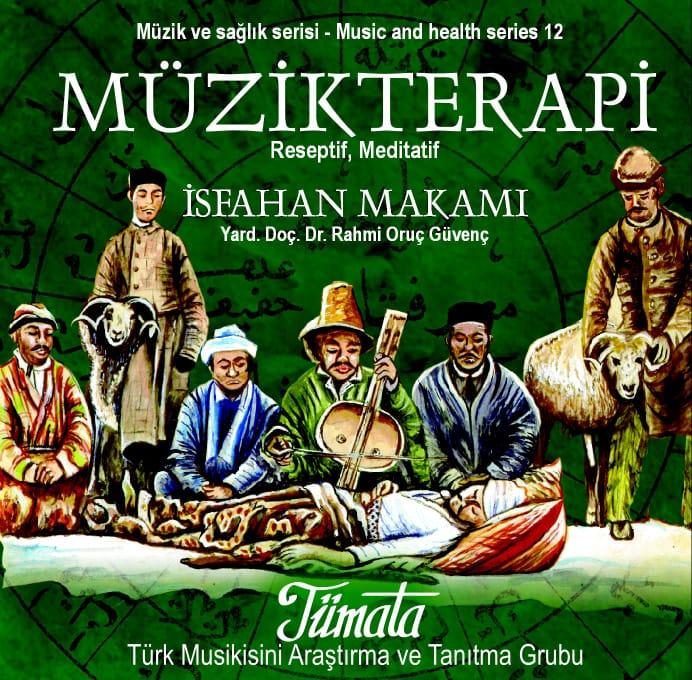 İsfahan makamı müzik terapi CD kabı