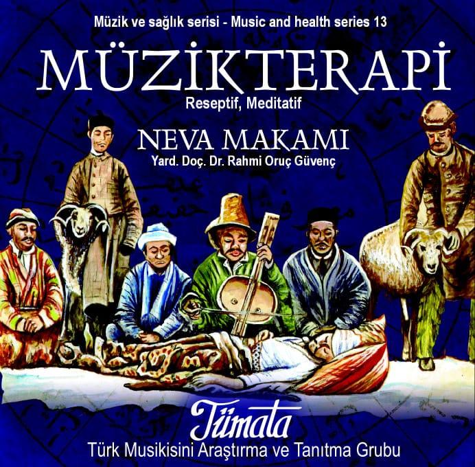 Neva makamı müzik terapi CD kapağı
