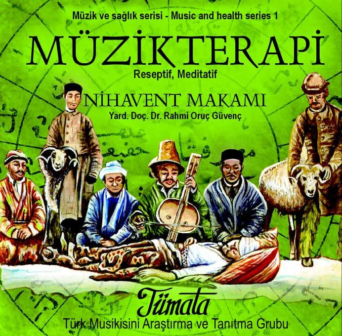 Nihavend makamı CD kapağı