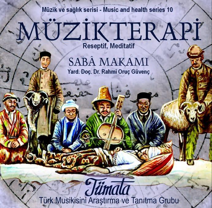 Saba makamı müzik terapi CD kabı