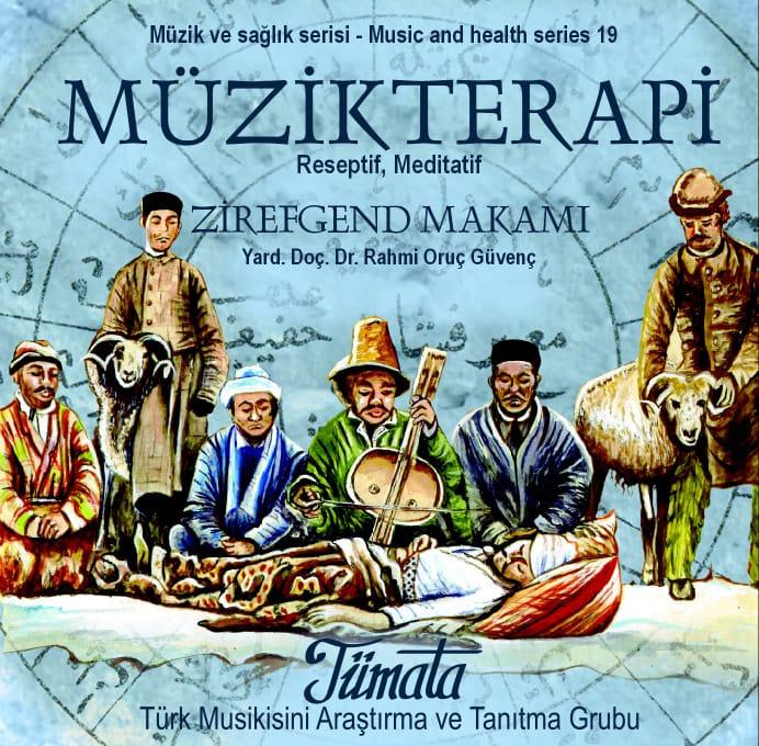Zirefgend makamı müzik terapi CD kapağı