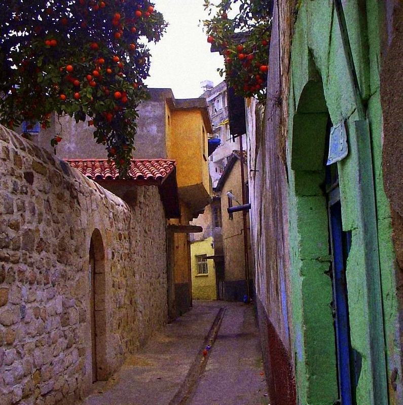 Eski Antakya sokakları